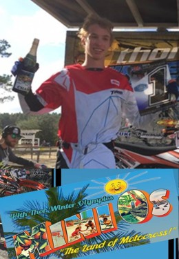 Motocross Congratulations for Marcus Phelps